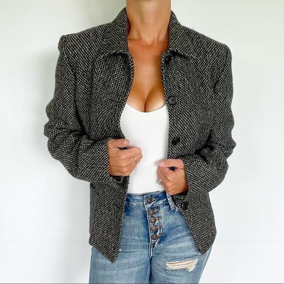 Ralph Lauren wool tweed jacket size 10